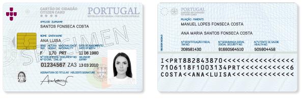 Portuguese ID card (citizen card)